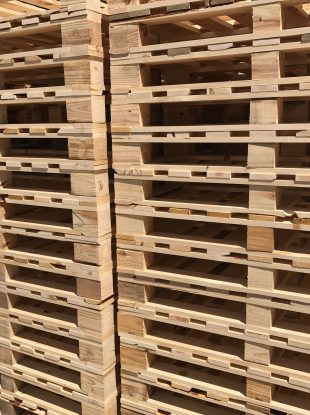 Rienk Inc. provides quality, custom pallets to the Northwest Iowa region. Including being the area's number one high volume pallet provider