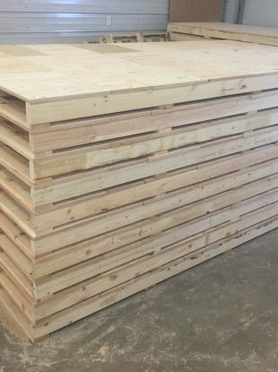 Rienk Inc. provides quality, custom pallets to the Northwest Iowa region. Including providing customers the ability to buy pallets