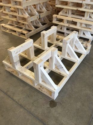 Rienk Inc. provides quality, custom pallets to the Northwest Iowa region. Including being the only business building custom designed pallets