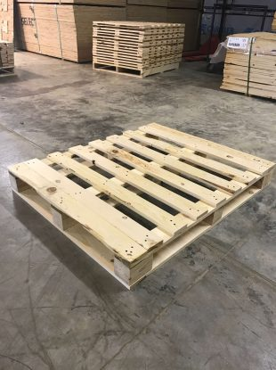 Rienk Inc. provides quality, custom pallets to the Northwest Iowa region. Including being the area's number supplier of quality pallets